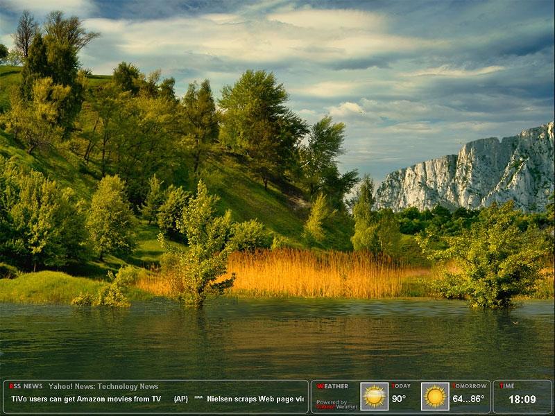 Amazing Lake Screensaver - standaloneinstaller com