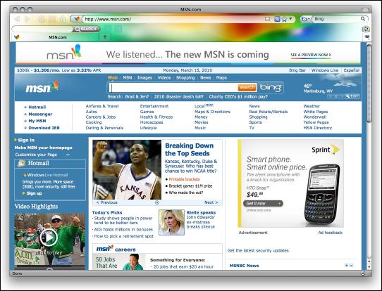 Download Ambient Color Firefox Theme