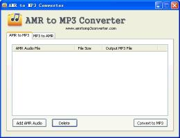 Download AMR to MP3 Converter