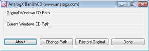 AnalogX BanishCD