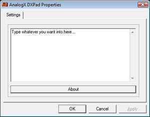 AnalogX DXPad