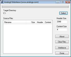 AnalogX Interleave