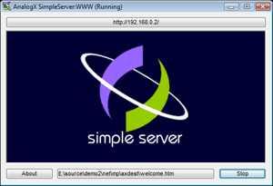 AnalogX SimpleServer:WWW