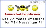 Download Animated MSN Emoticons Set #1