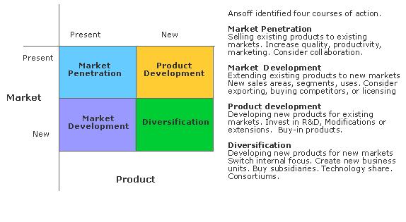 Ansoff Strategy (MBA)