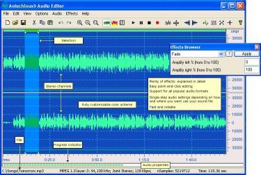 Download Antechinus Audio Editor