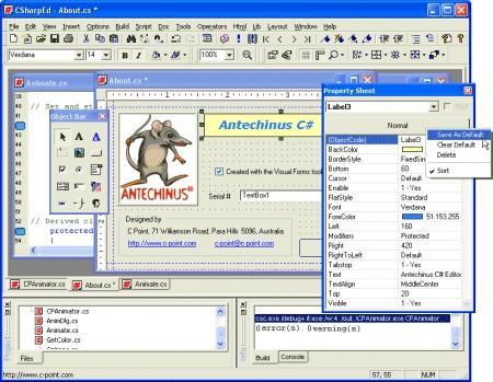 Download Antechinus C# Editor
