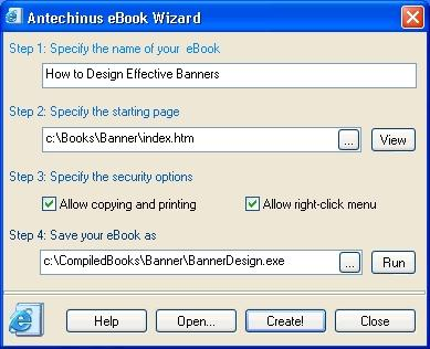 Download Antechinus eBook Wizard
