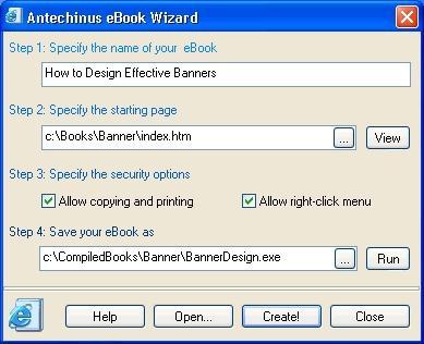 Download Antechinus eBook Wizard