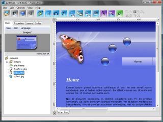 Download Antenna Web Design Studio