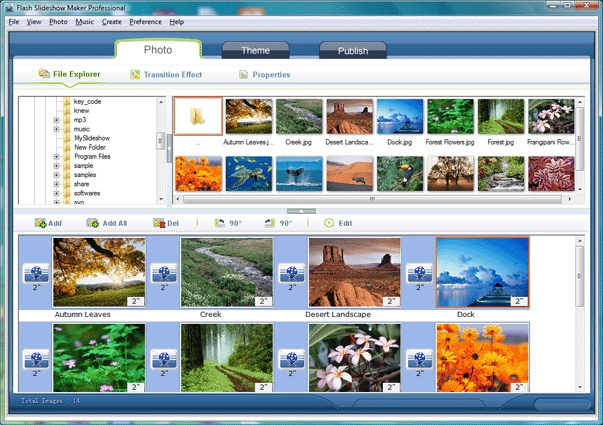 AnvSoft Flash Slideshow Maker - standaloneinstaller com