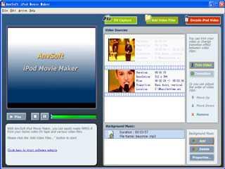Download AnvSoft iPod Movie Maker
