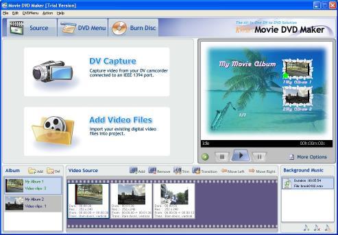 Download AnvSoft Movie DVD Maker