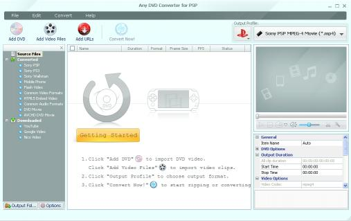Download Any DVD Converter for PSP