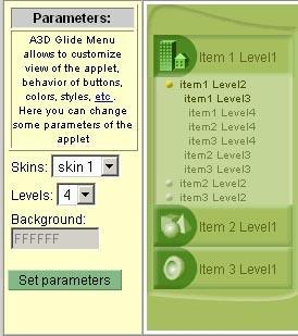 Download Anything3D Glide Menu