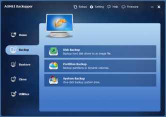 Download AOMEI Backupper