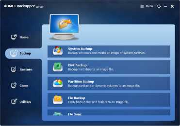 Download AOMEI Backupper Server
