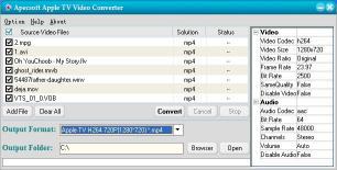 Download ApecSoft Apple TV Video Converter