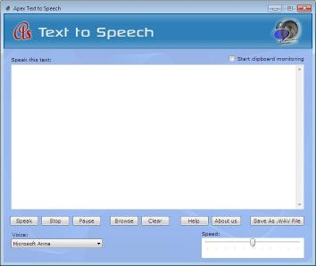 Download Apex Text to Voice Converter