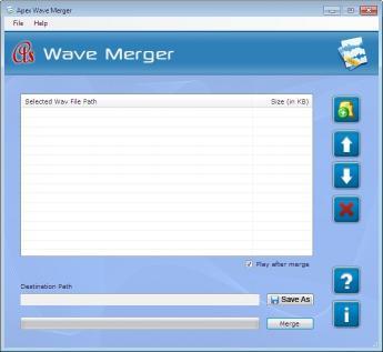 Download Apex WAV Merger Software