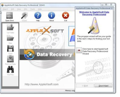 Download AppleXsoft Data Recovery Professional
