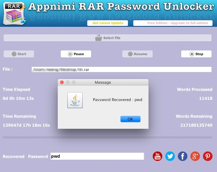 rar password decoder free