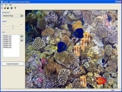Download Aquarium Screensaver Maker