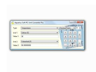 Download Aquarius Soft PC Unit Converter