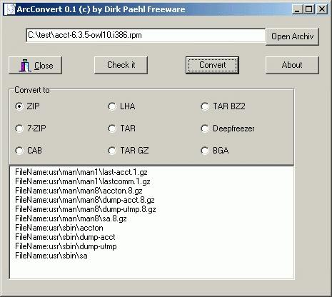 Download ArcConvert
