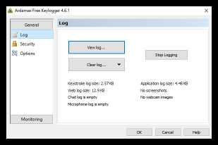Ardamax Free Keylogger