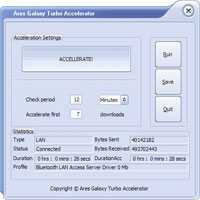 Download Ares Galaxy Turbo Accelerator