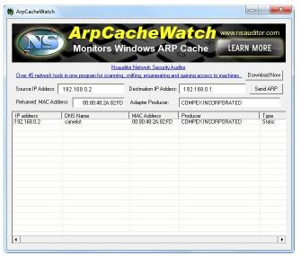 Download ArpCacheWatch