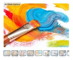 Download Art Flash Gallery SWF Object