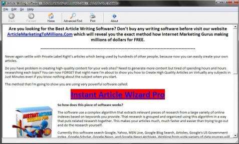 Download Article Writing Software