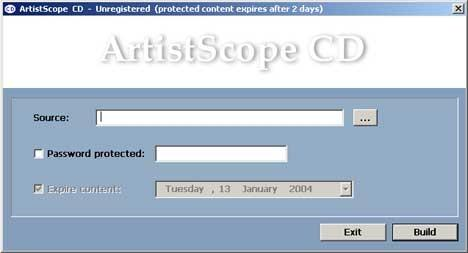 Download ArtistScope CD Protection