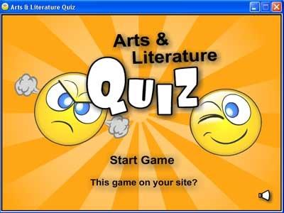 Download Arts and Literature Quiz
