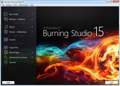 Download Ashampoo Burning Studio 15