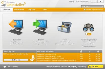 Download Ashampoo UnInstaller 5