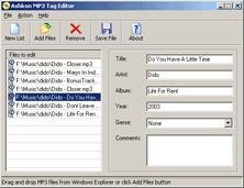 Download Ashkon MP3 Tag Editor