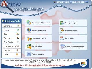 Download Asmw PC-Optimizer pro