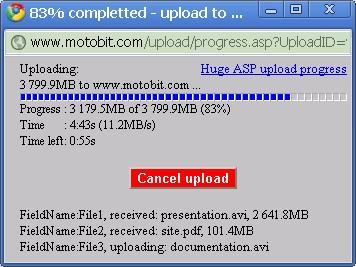 Download ASP file upload