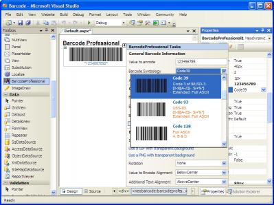 Download ASP.NET Barcode Professional