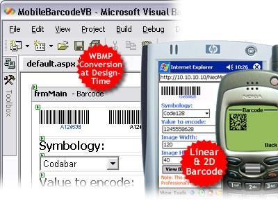 Download ASP.NET Mobile Barcode Professional