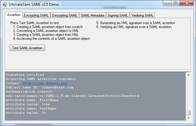 ASP NET SAML Component for CS VB NET - standaloneinstaller com