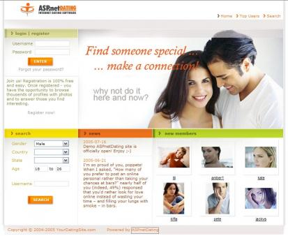Download ASPnetDating Lite