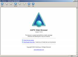 ASPS Secure Web Browser