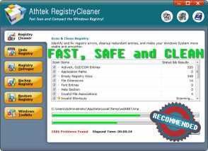 AthTek Registry Cleaner