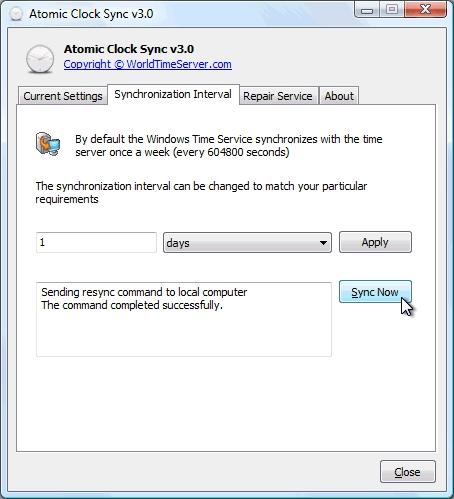 Download Atomic Clock Sync