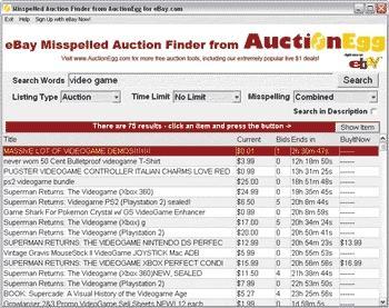 Download Auction Misspeller Software