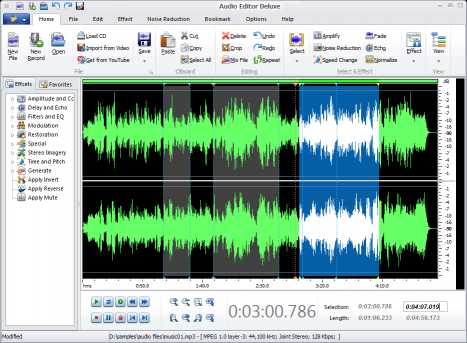 Download Audio Editor Deluxe 2015